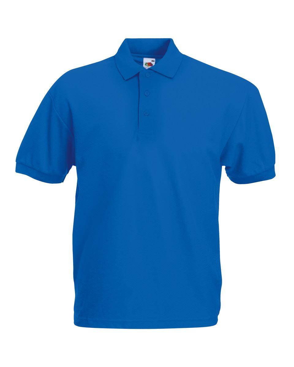 Fruit-of-the-Loom-Plain-Cotton-Mens-Polo-Shirts-T-Shirt-Short-Sleeve-Tshirt thumbnail 24