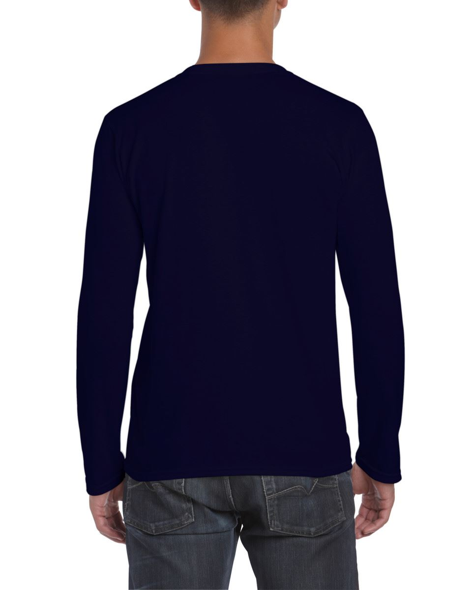 Gildan-MEN-039-S-LONG-SLEEVE-T-SHIRT-SOFT-COTTON-PLAIN-TOP-SLEEVES-CASUAL-NEW-S-2XL thumbnail 22