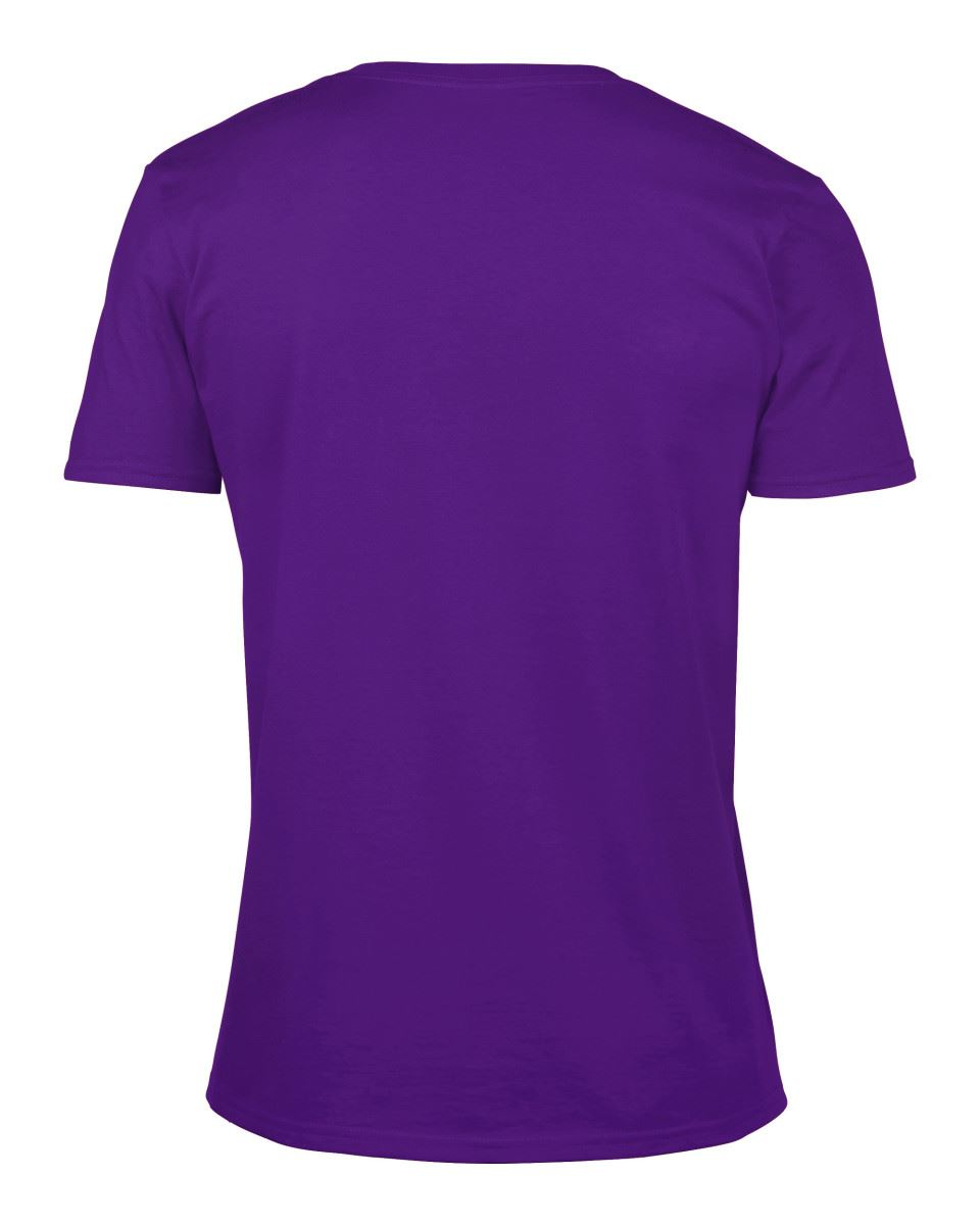 Gildan-Mens-Men-039-s-Soft-Style-Plain-V-Neck-T-Shirt-Cotton-Tee-Tshirt thumbnail 46