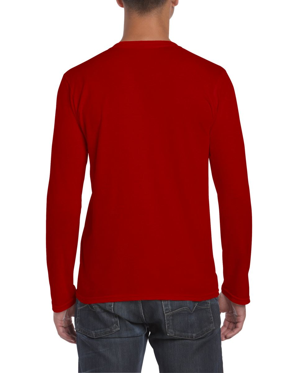 Gildan-MEN-039-S-LONG-SLEEVE-T-SHIRT-SOFT-COTTON-PLAIN-TOP-SLEEVES-CASUAL-NEW-S-2XL thumbnail 33
