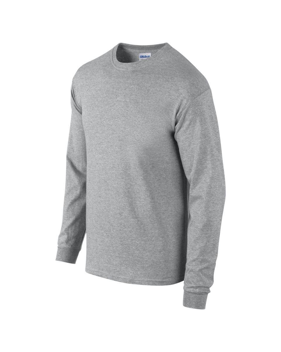 Gildan-Mens-Ultra-Cotton-Adult-Long-Sleeve-Plain-T-Shirt-Tshirt-Cotton-Tee-Shirt thumbnail 16
