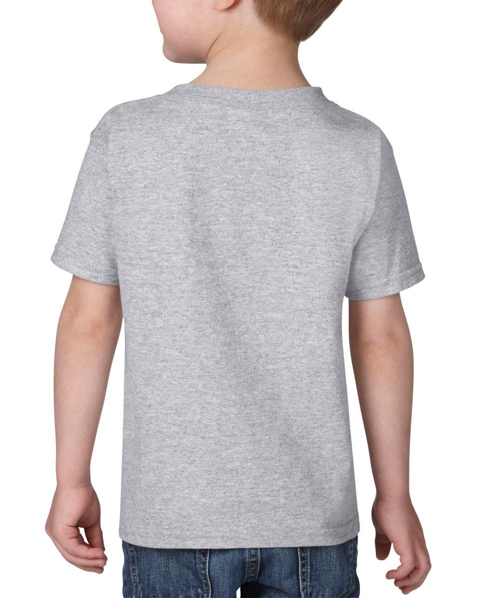 GILDAN-Childrens-Kids-Toddler-Heavy-Cotton-T-Shirts-T-Shirt-Tshirt-Tee-6-Colours thumbnail 7