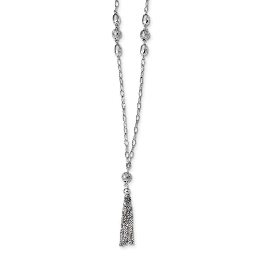 Fine Necklaces & Pendants Jewellery & Watches Qualified Sterling Silver Tassle Pendant New