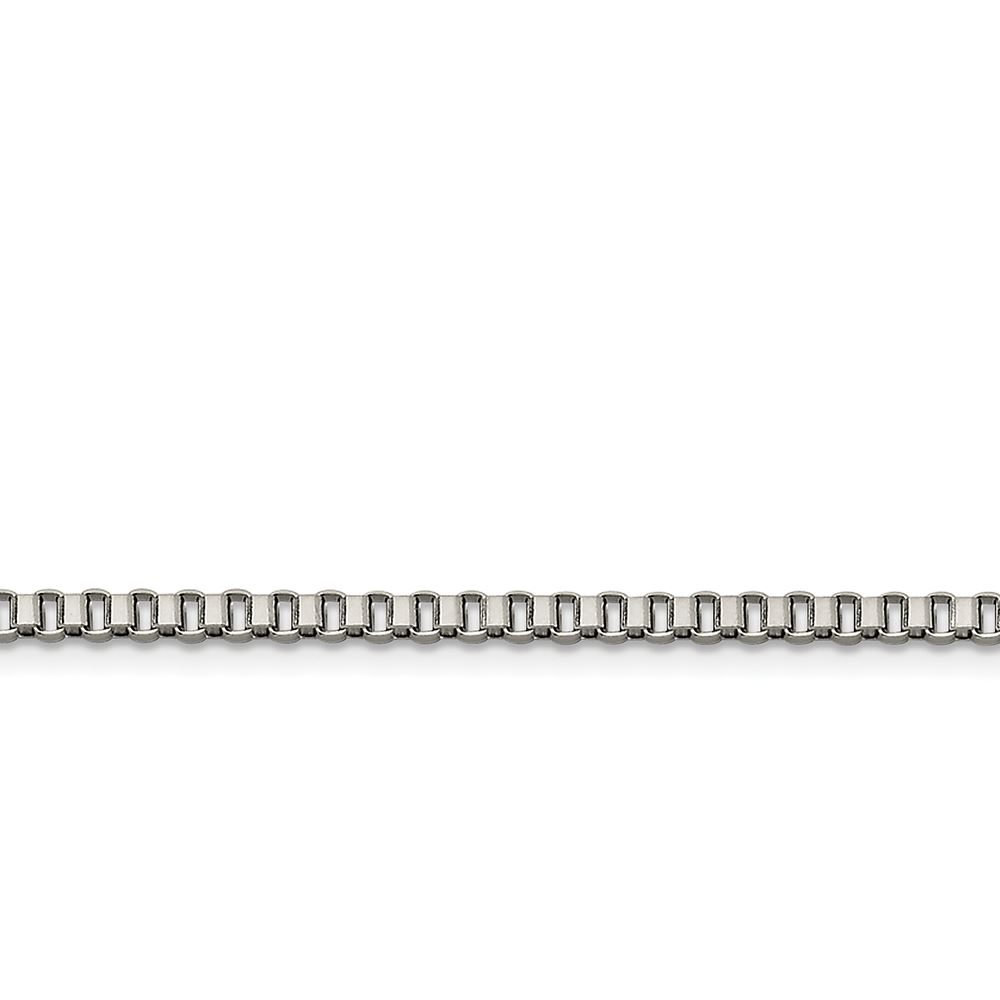 Stainless Steel 3.2mm 24in Box Chain