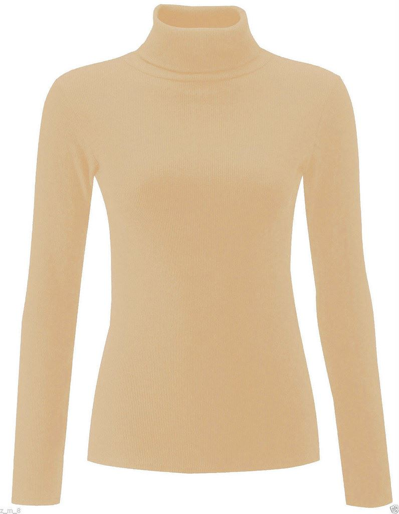 Find great deals on eBay for Womens Polo Neck Top in Tops and Blouses for All Women. Shop with confidence. Find great deals on eBay for Womens Polo Neck Top in Tops and Blouses for All Women. Ladies Ribbed Cotton High Neck Top. Full Sleeve. % Cotton. Women Polo Neck Long Sleeve Roll Neck T Shirt Ladies Turtle Neck Top Plus size. £