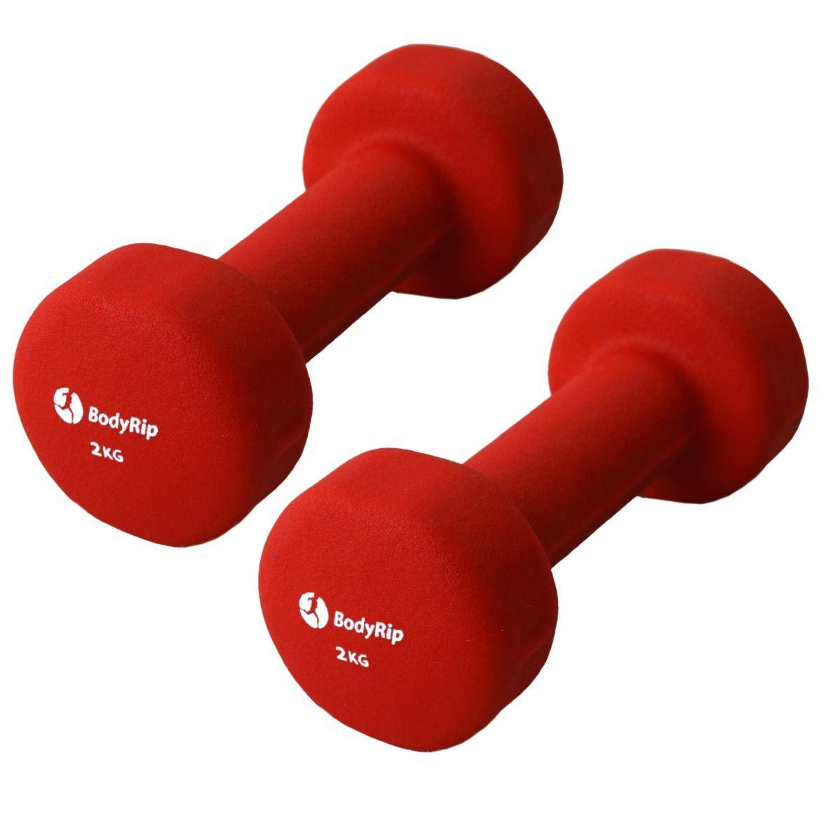 Free Weights Planet Fitness: BodyRip Fitness Neoprene Neo Hand Weights Dumbbells 1Kg
