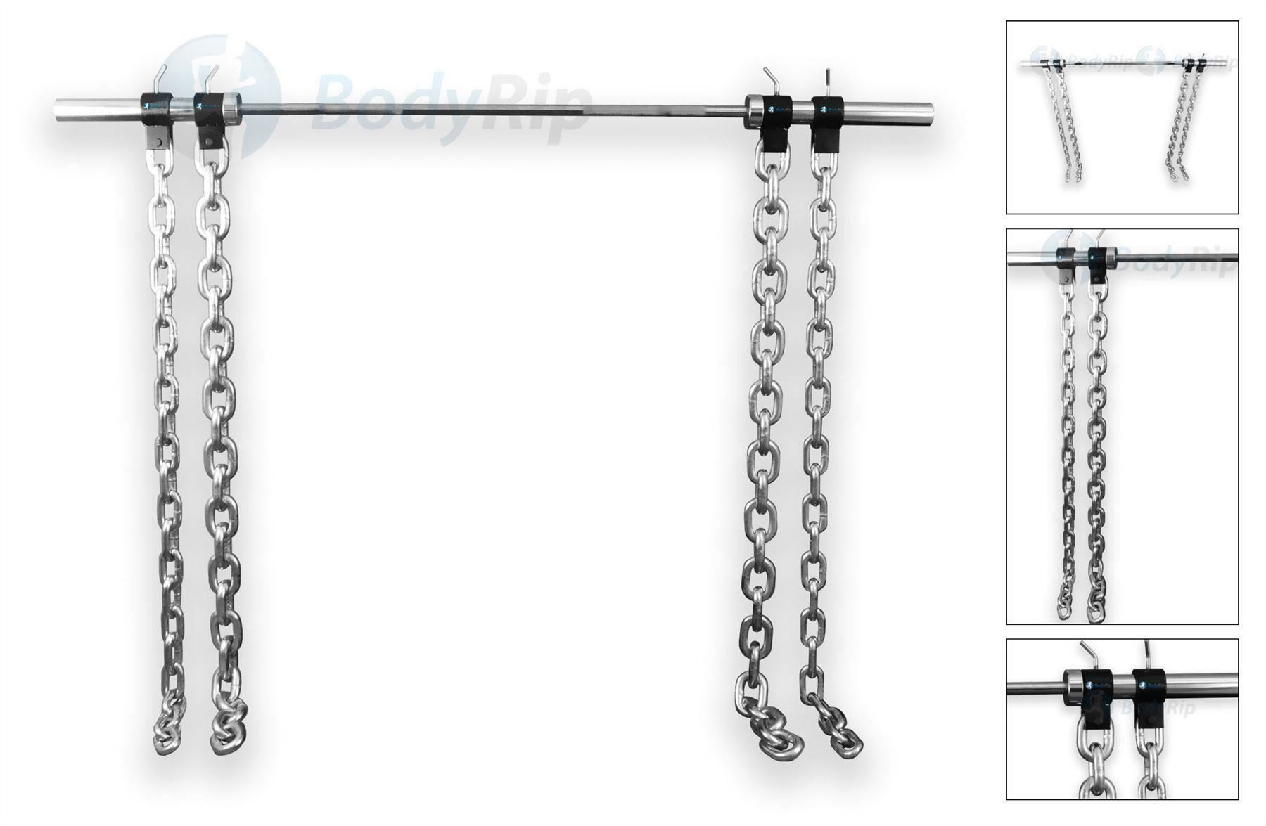 bdd87e463a0 These Weightlifting Chains With Collars Are Ideal For Adding More Weight On  To Your Olympic Bars To Increase Resistance Gradually Or For Upping The  Weight ...