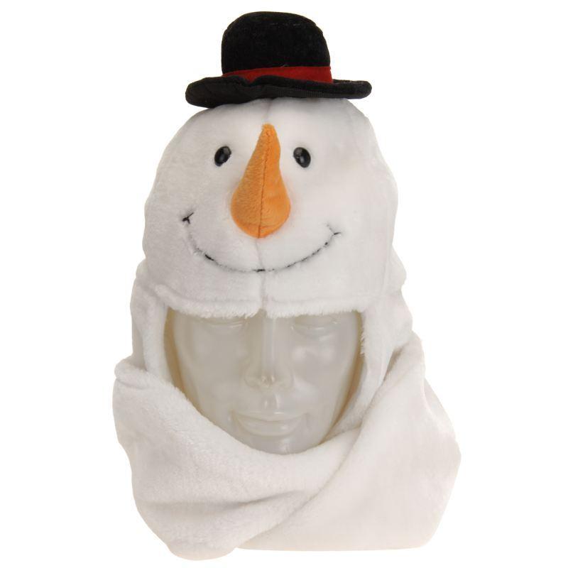 DANDLE-CHRISTMAS-XMASS-HAT-95-cm-WITH-HAND-WARMER-SANTA-SNOWMAN-REINDEER-GIFT