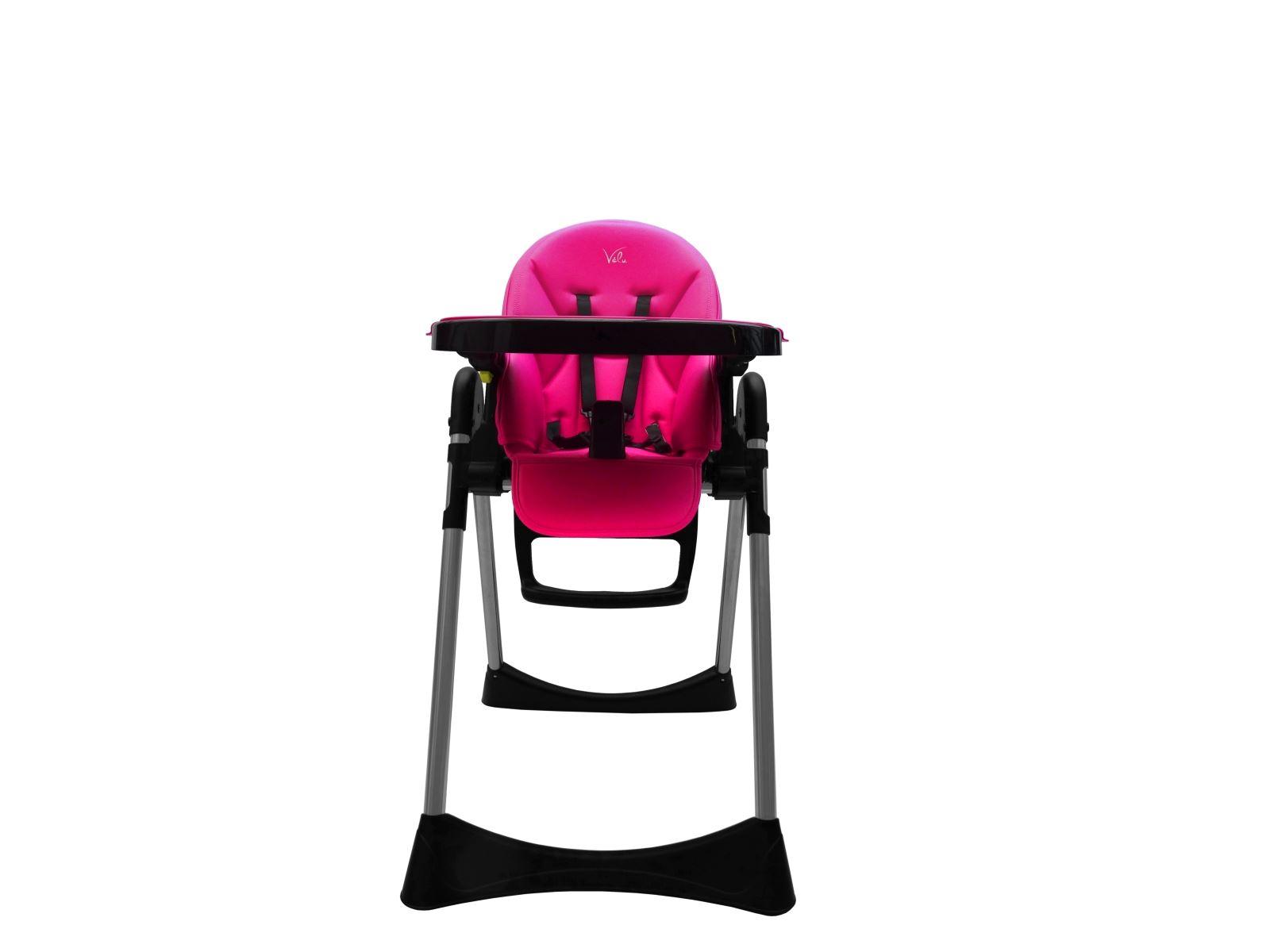 Velu Baby Child Highchair Feeding Chair pact High Chair PINK
