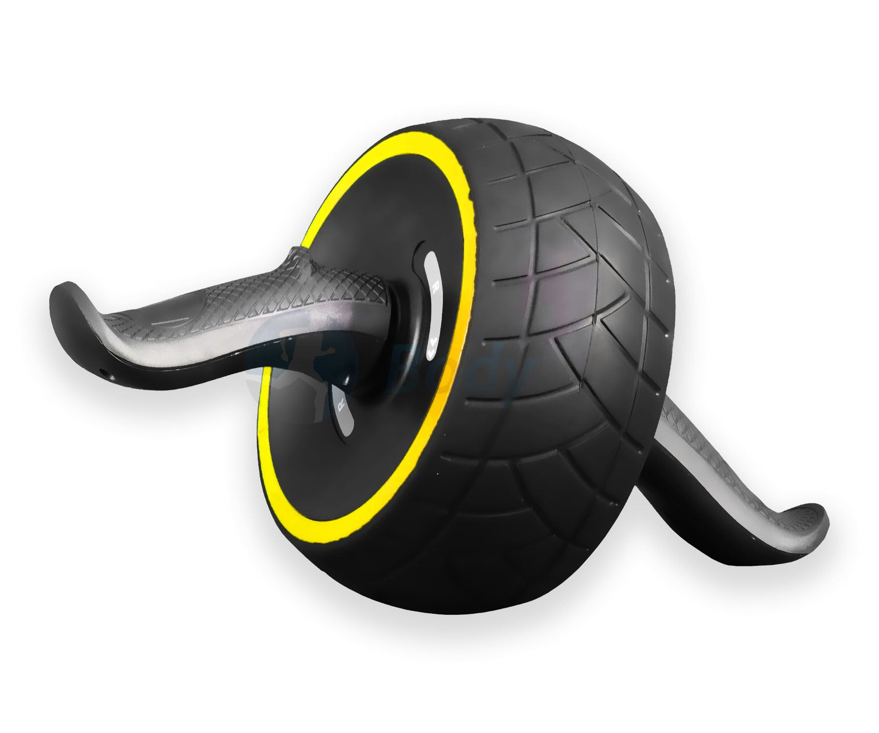 NUOVO-POTENTE-potere-ADDOMINALI-Carver-AB-HAND-GRIP-roller-wheel-HOME-GYM miniatura 8