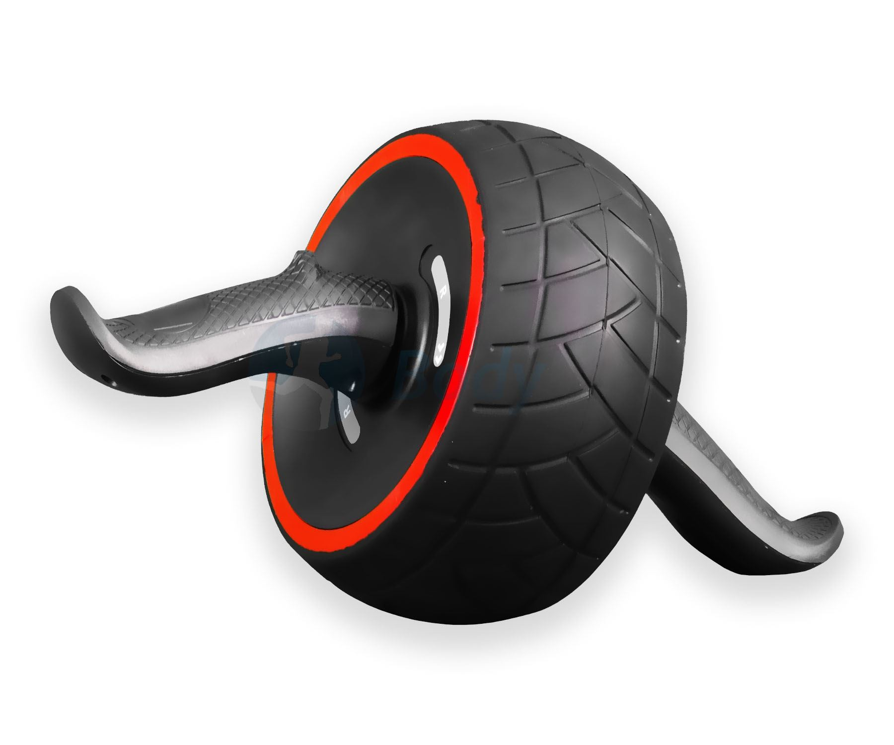 NUOVO-POTENTE-potere-ADDOMINALI-Carver-AB-HAND-GRIP-roller-wheel-HOME-GYM miniatura 5