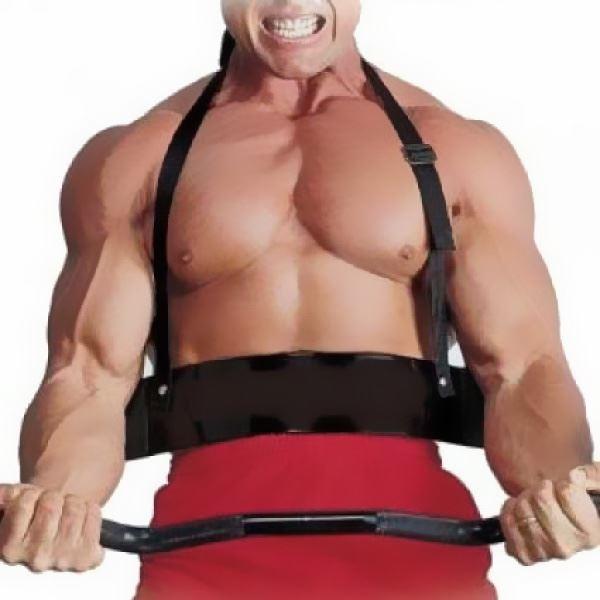 New-Weightlifting-Arm-Biceps-Blaster-Isolator-Gym-Support-Strap-Bodybuilder thumbnail 3
