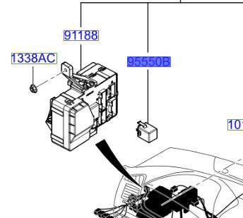 Details about Genuine Hyundai Sonata 05-06 flasher/indicator module/relay-  955503k100