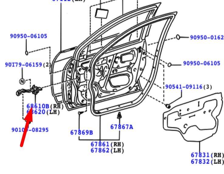 30 2006 Toyota Corolla Parts Diagram