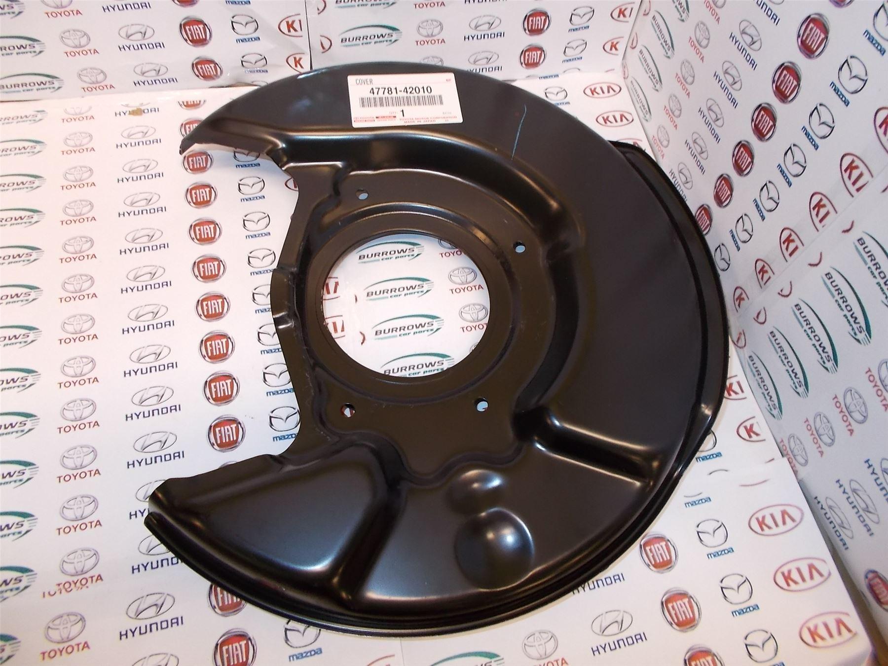 Genuine Toyota Rav4 RH Front Brake Back Plate 47781-42030