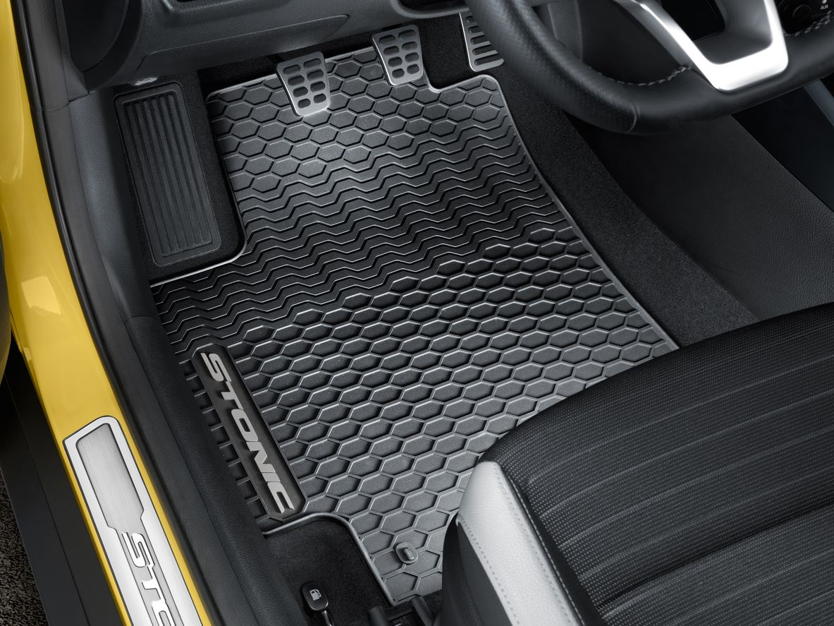 All Weather Floor Mats >> Details About Genuine Kia Stonic All Weather Floor Mat Set H8131ade60gr