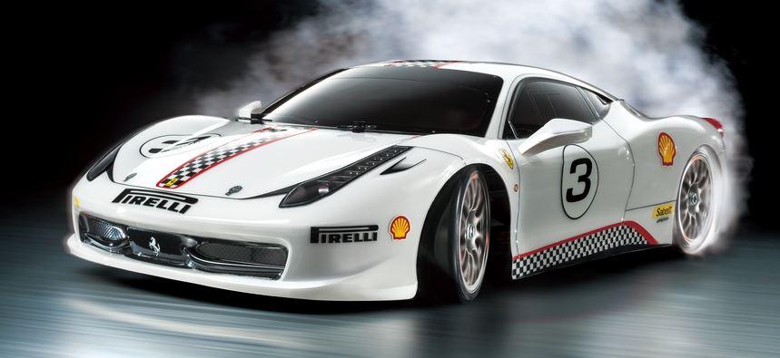 Tamiya - RC Ferrari 458 Challenge Kit, TT02D Drift Specifica
