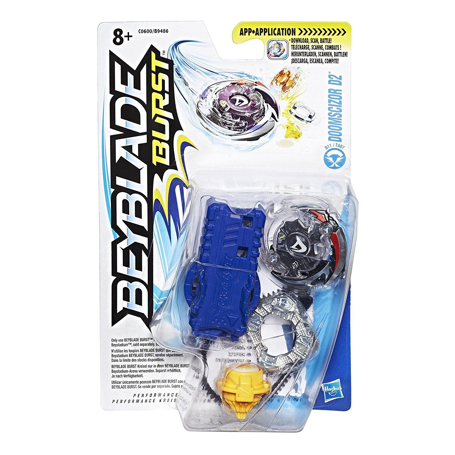beyblade burst spinning top with launcher ebay. Black Bedroom Furniture Sets. Home Design Ideas
