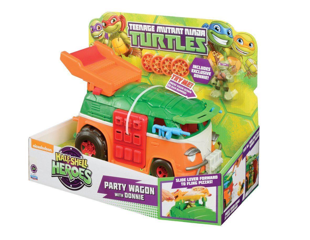 Teenage Mutant Ninja Turtles Party Wagon With Donnie