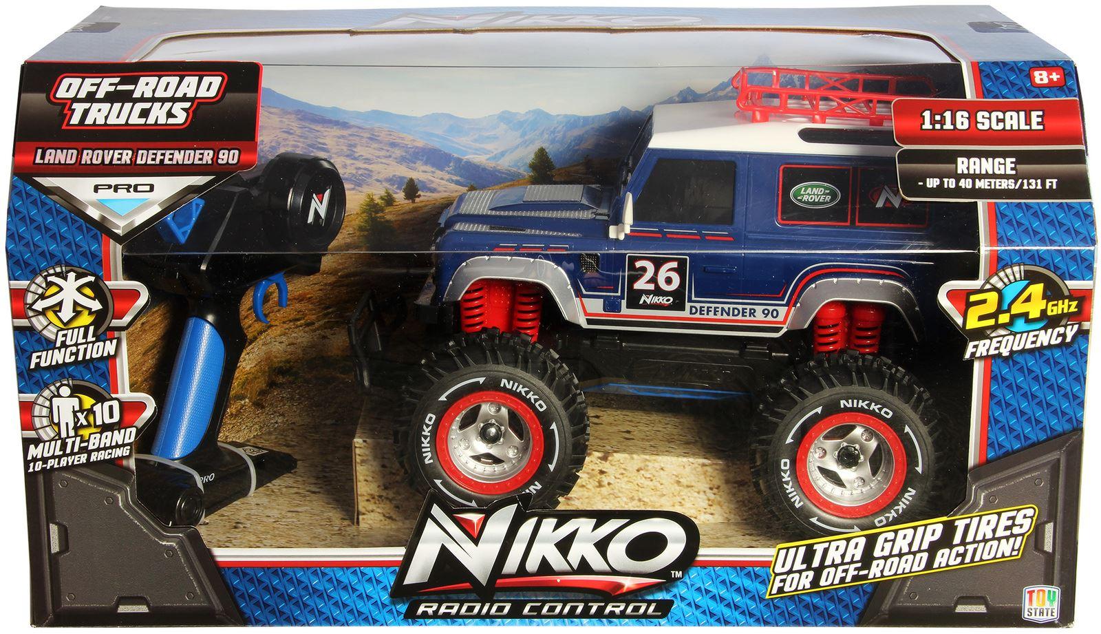 Nikko Radio Control Land Rover Defender 90