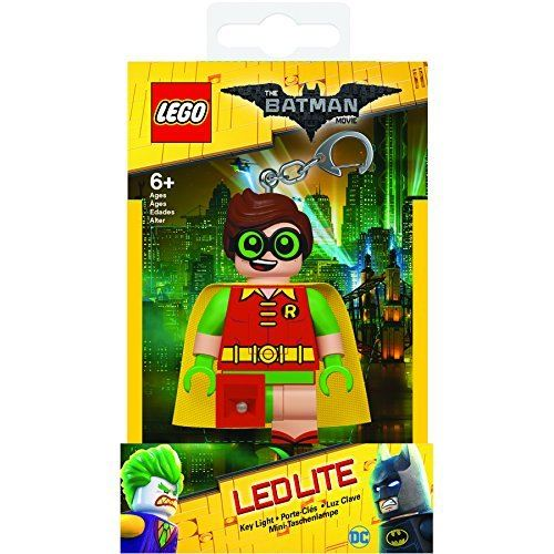 The Batman Movie Lego Ledlite Keyring - Robin
