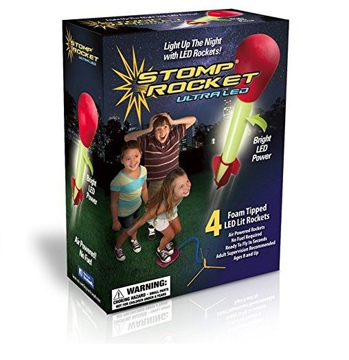 Ultra Led Stomp Rocket Kids Play Fun Garden Outdoor Outside Toy