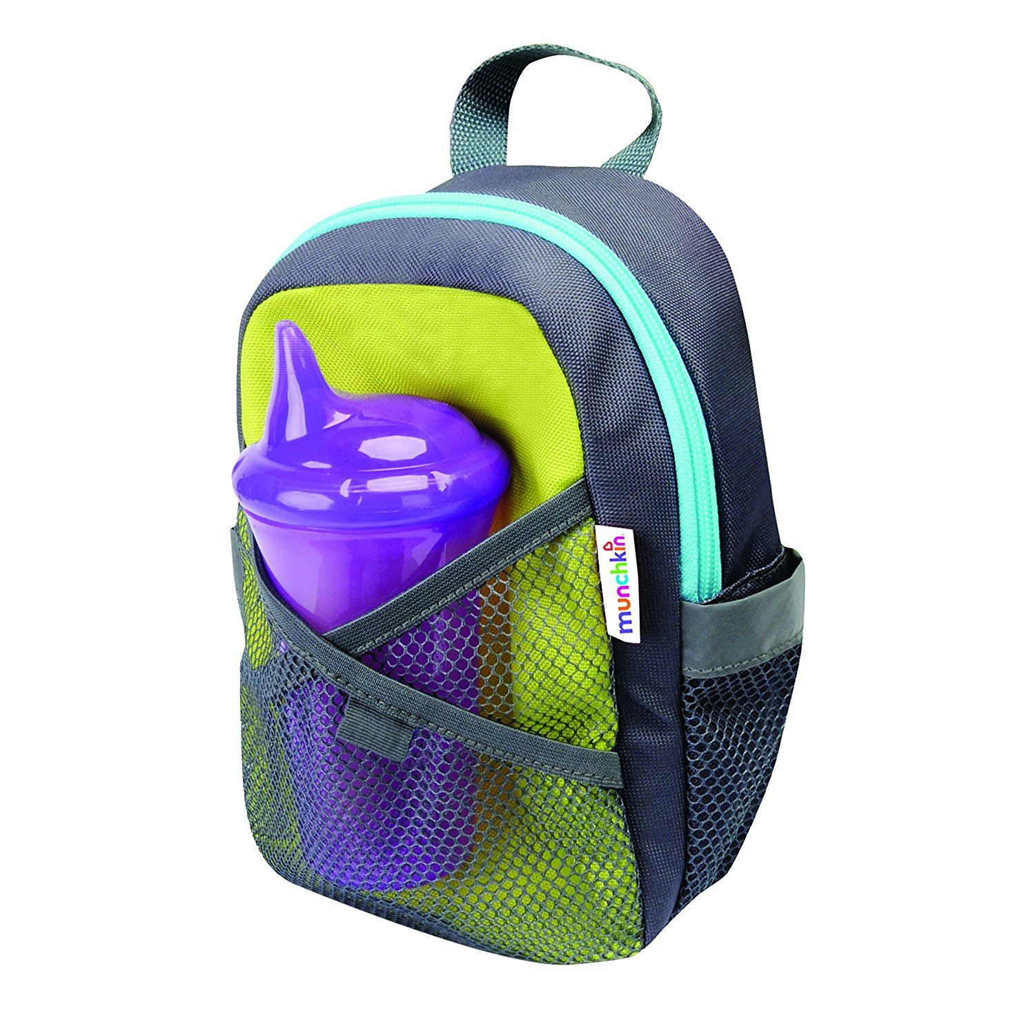 Munchkin By My Side Safety Harness Backpack (green)