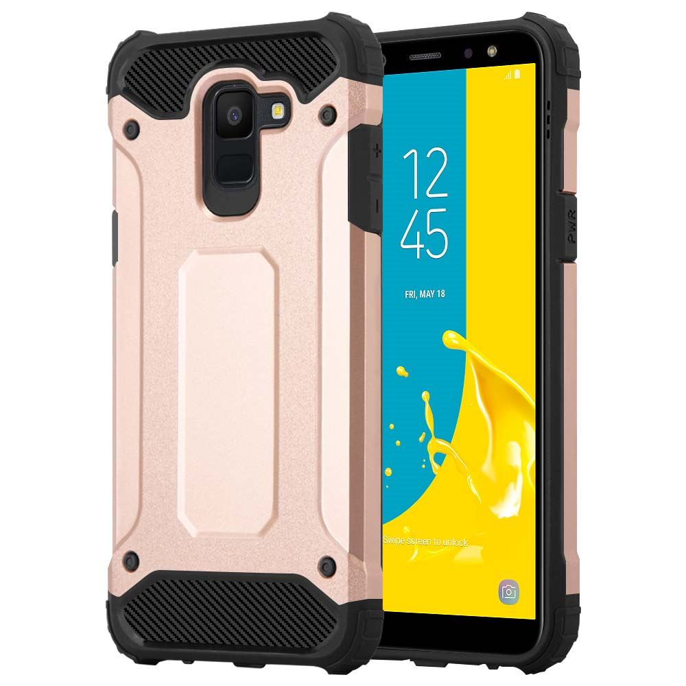 Pour Samsung Galaxy J6 J6 Plus Coque Telephone Heavy Duty Shock