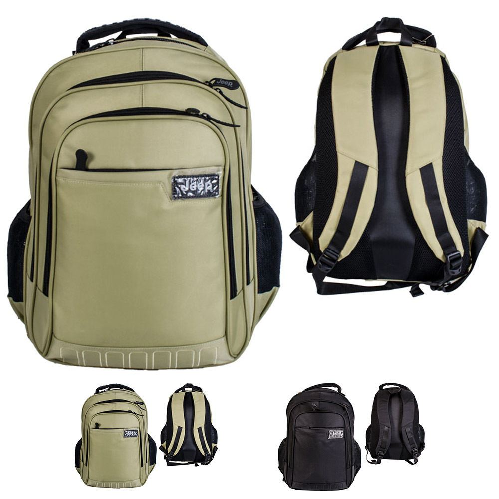 90545bc944 Details about JEEP HIGH QUALITY LAPTOP BACKPACK RUCKSACK FOR SCHOOL COLLEGE  TRAVEL HIKING BAG