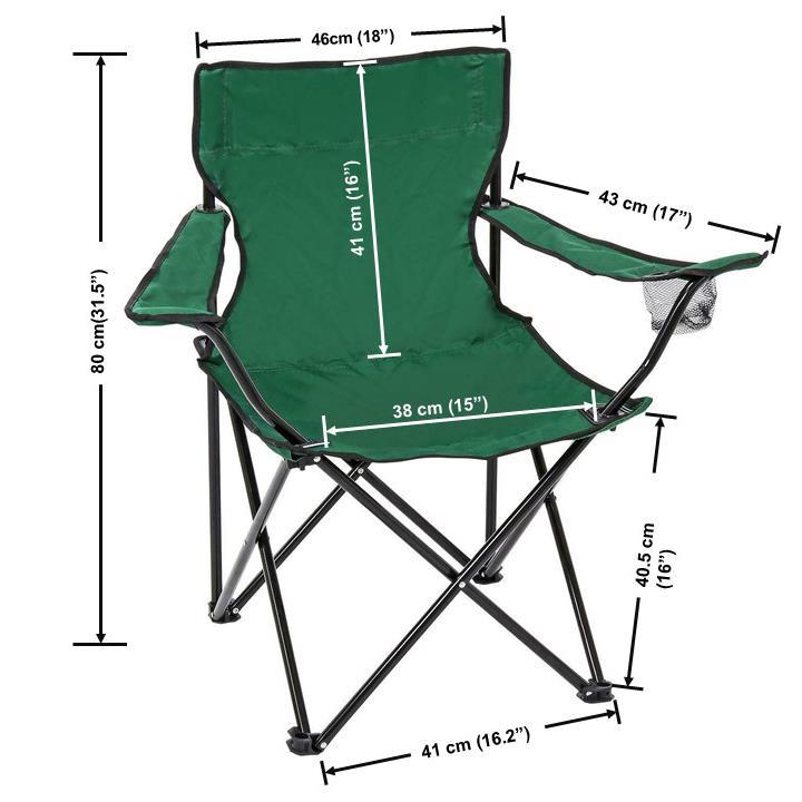 Folding Camping Chair Portable Fishing Beach Outdoor Garden Chairs Retractable
