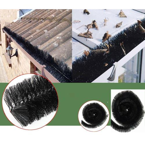 Gutter Brush Protection 4-16M// Leaf and Debris Free//AllLengths Available