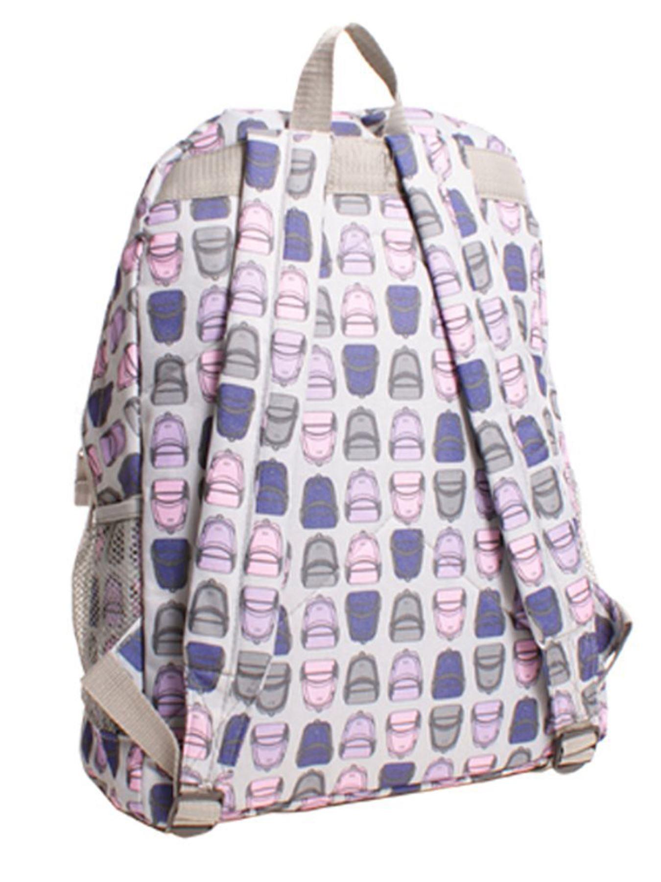 HI-TEC GIRLS LADIES FLORAL PRINT BACKPACK TRAVEL RUCKSACK SCHOOL BAG COLLEGE GYM