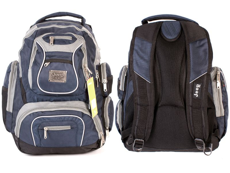 1e09b384bc0 Jeep Discovery Laptop Travel Cabin Hand Luggage College Hiking Backpack Bag