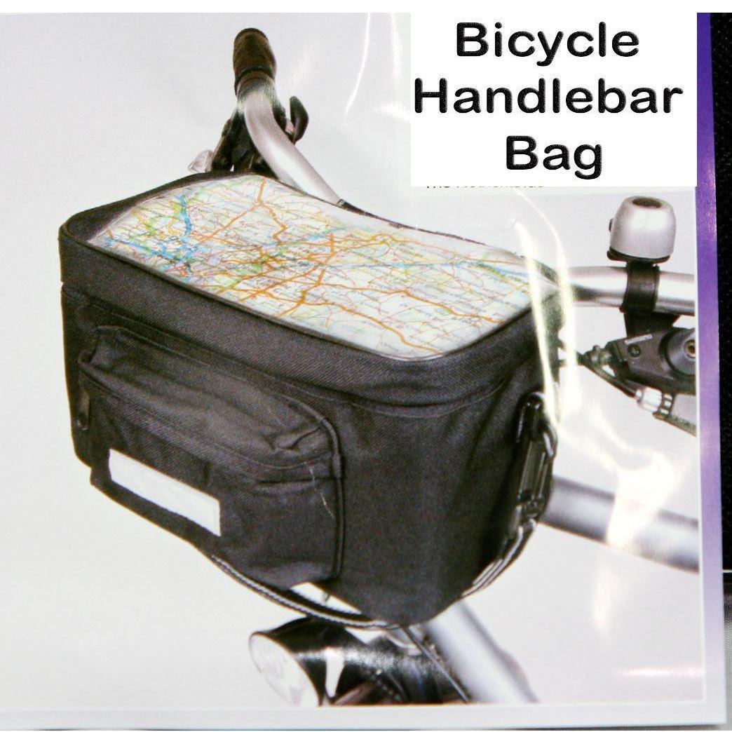 Sports Cycling Bike Bicycle Front Basket Handlebar Bar Bag Outdoor Panniers