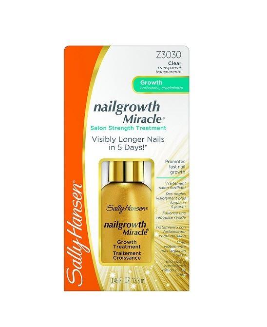 Sally Hansen Nail Growth Miracle Treatment 1 2 3 6 12 Packs | eBay