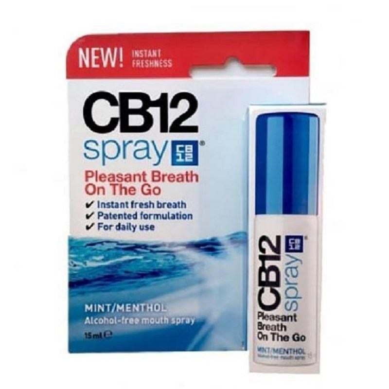CB12 pulvérisation menthe / Menthol 15ml 1 2 3 6 12 Packs