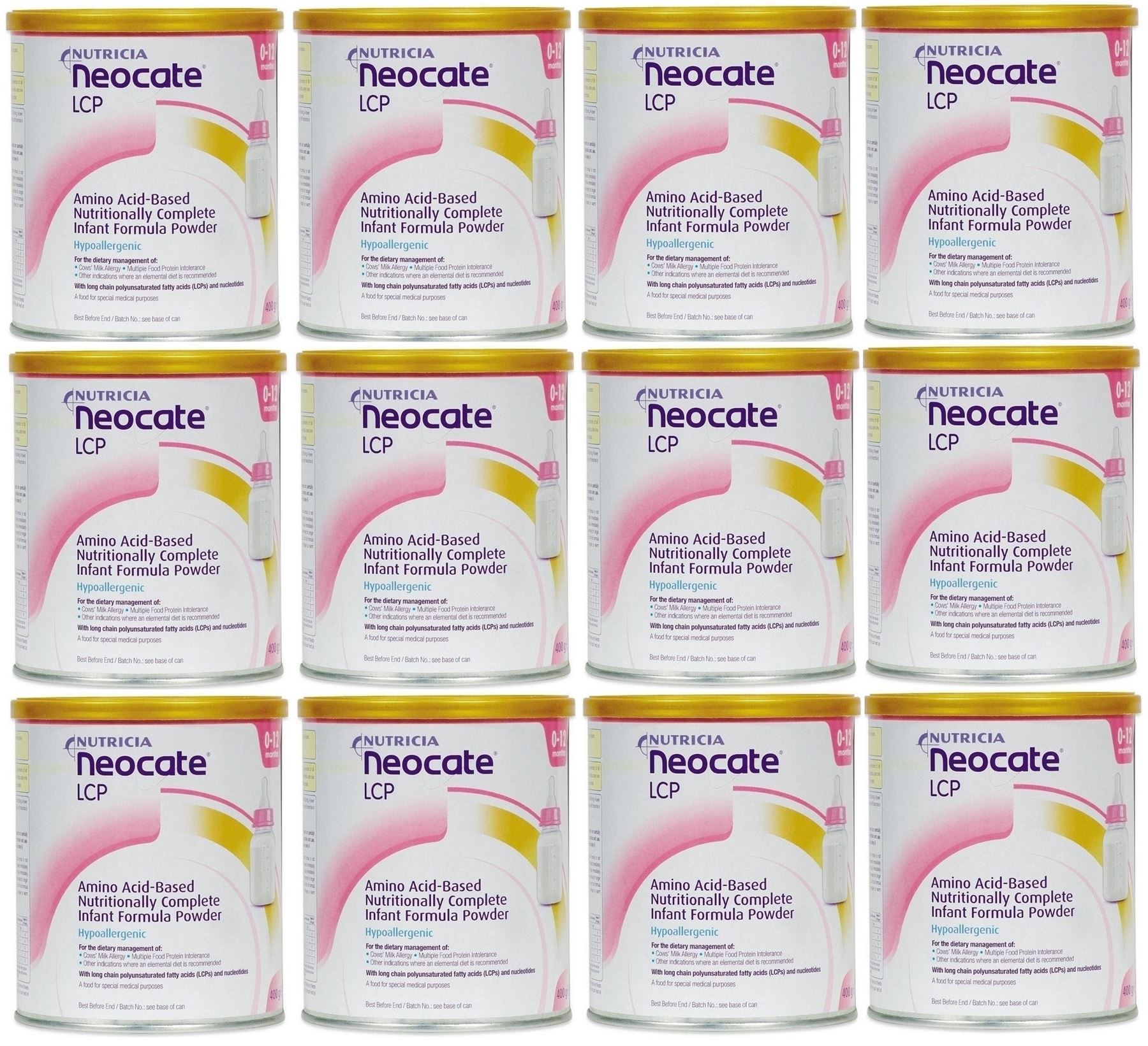 Details about Nutricia Neocate LCP 0-12 Infant 400g