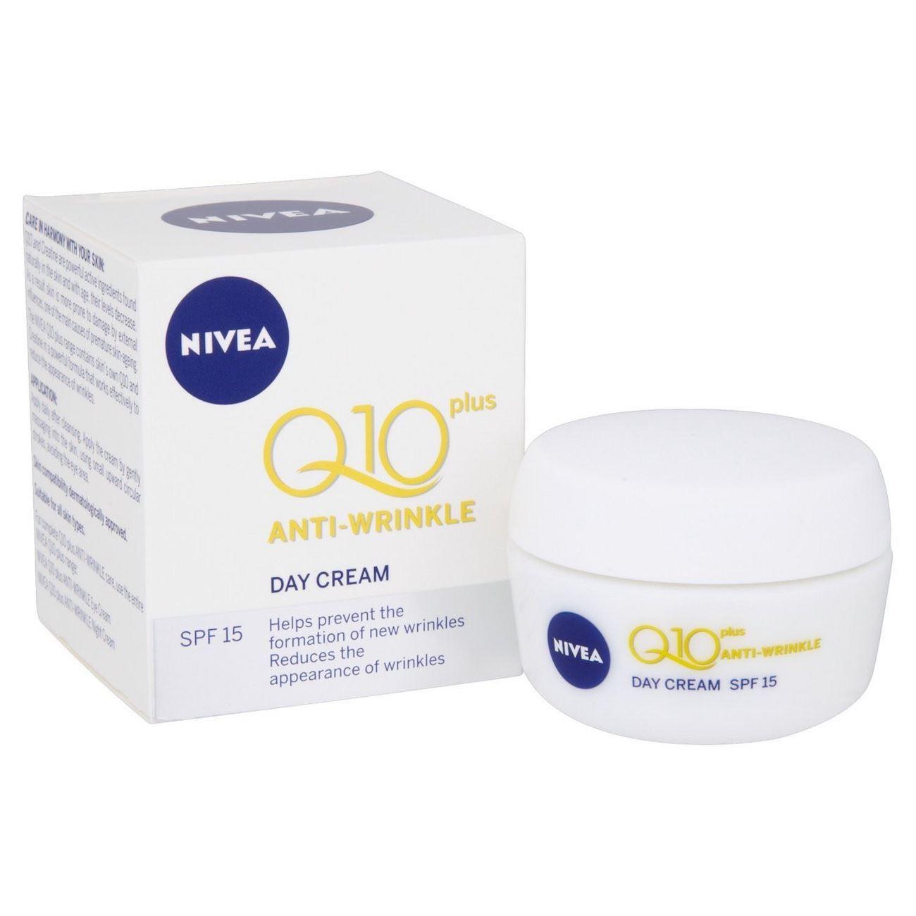 nivea anti wrinkle q10 plus