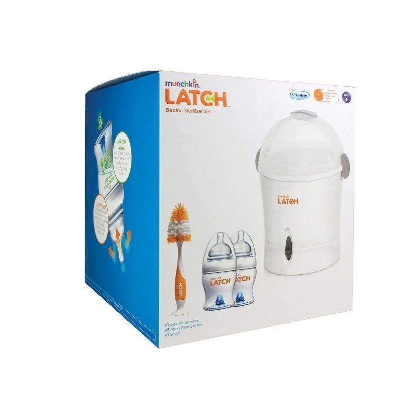 Munchkin Latch Electric Steriliser Starter Set 1 2 3 6 12 Packs Ebay