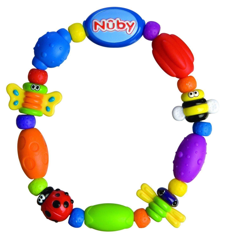 Nuby-Bug-a-Loop-Teether-Chain-1-1-2-3-6-12-Packs