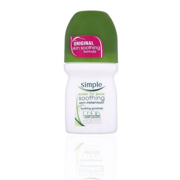 Simple Anti Perspirant Roll On 50ml 1 2 3 6 12 Packs Ebay