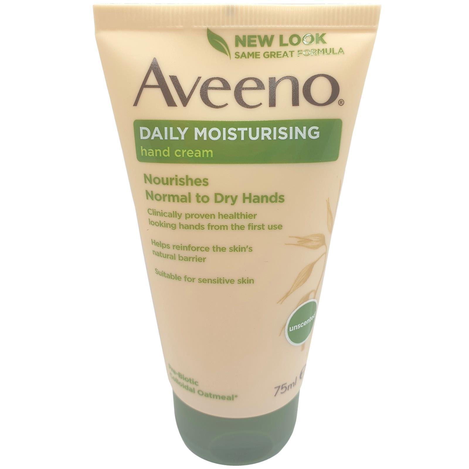 Aveeno Active Naturals Daily Moisturizing Hand Cream 75ml