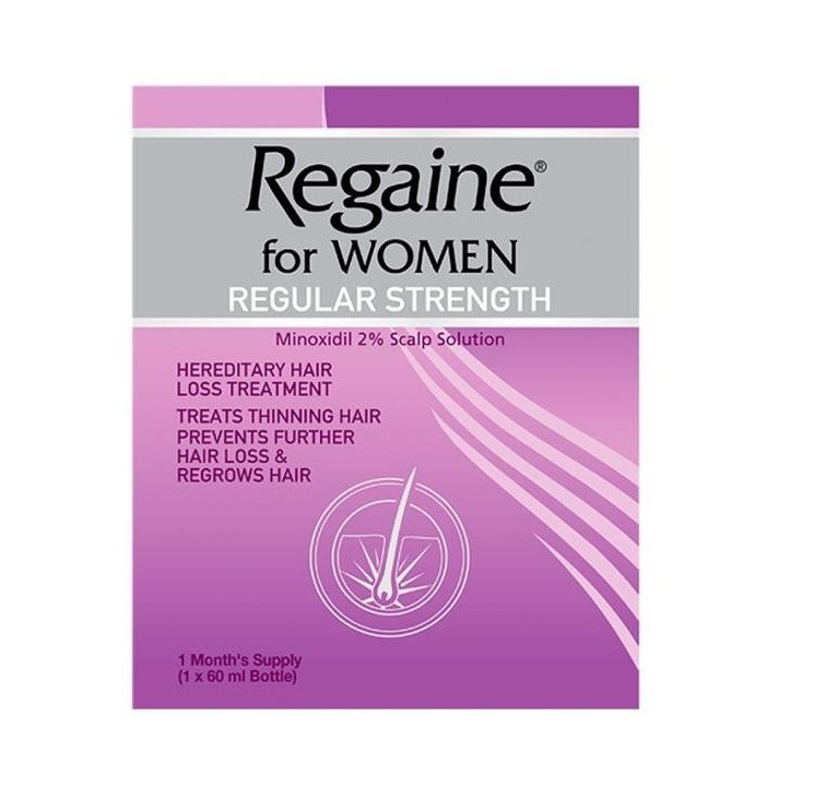 Regaine For Women Regular Strength 60ml 1 2 3 6 12 Packs