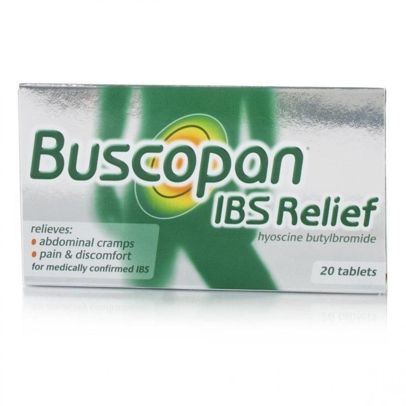 Reviews Buscopan Ibs Relief Hyoscine Butylbromide 20 Tablets Ebay
