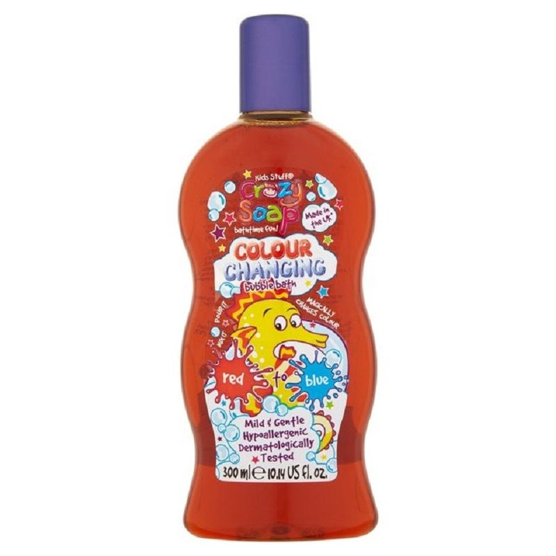 Kids-Stuff-Colour-Changing-Bubble-Bath-Red-Blue-300ml-1-2-3-6-12-Packs Indexbild 3