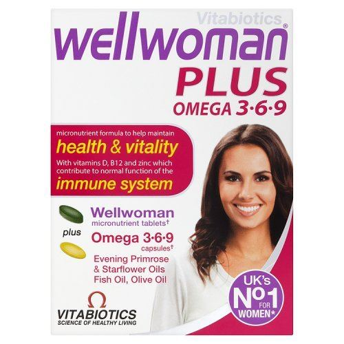 Wellwoman Plus Omega 3-6-9 Tablets