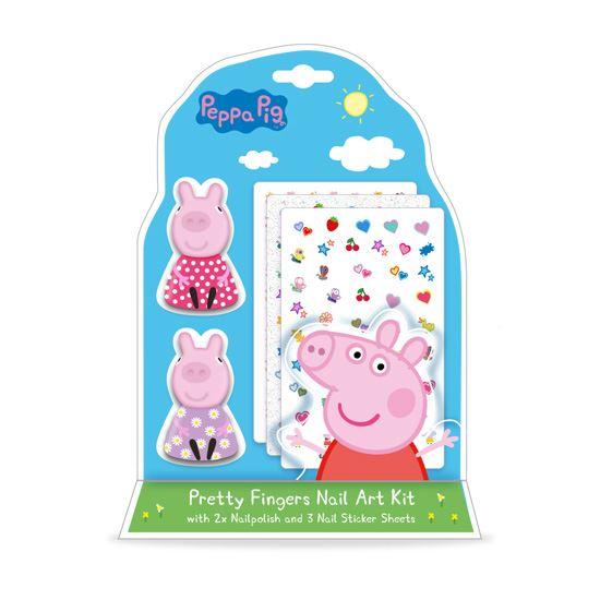 Peppa Pig Pretty Fingers Nail Art Kit