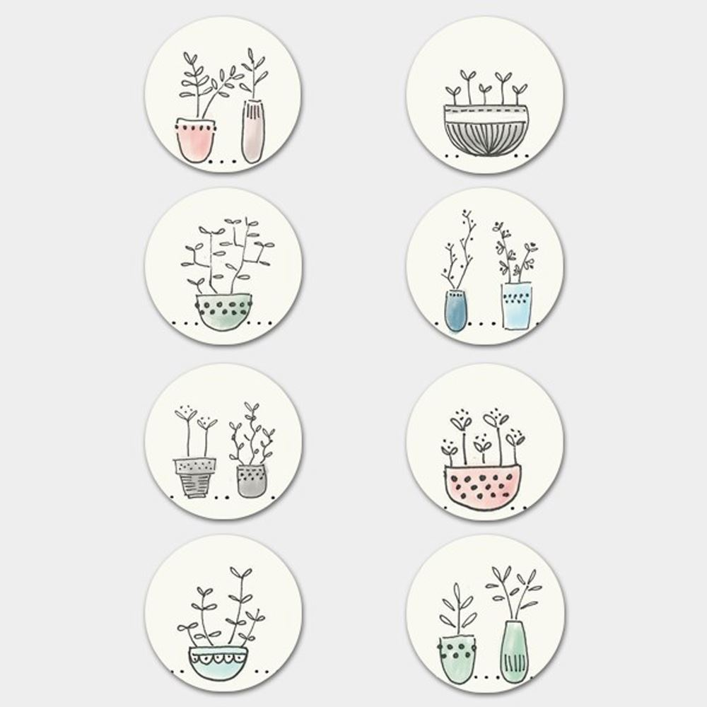 East-Of-India-A4-Sticker-Sheets-Wedding-Birthday-Christmas-Gifts-Crafts