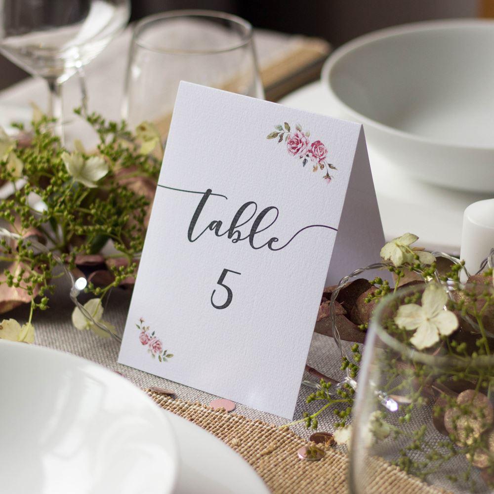 16 Boho Wedding Table Numbers, Wedding Table Decorations, Boho Decorations, Tent fold Wedding Table Numbers, Top Table & Numbers 1-16