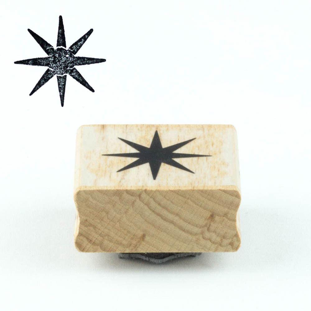 Star Rubber Stamp, Craft Star Ink Stamps, DIY Wedding Favours, Gift Tags, Christmas Star Craft, Scrapbooking Stamps, Star Stamping